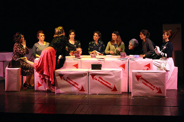 Mireia Monells, Olga Munté, Mayte Calvo, Silvia Rull, Tere Mur i Rosa Bou