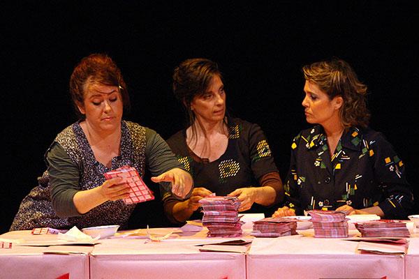 MIreia Monells, Olga Munté i Mayte Calvo